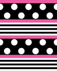 Pallo-raidat pinkki