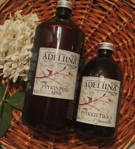 Adeliina pyykkietikka 500ml, puuvilla
