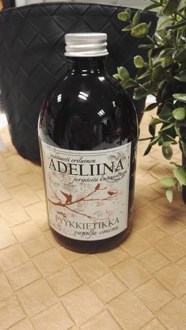 Adeliina pyykkietikka 500ml, vanilja-omena