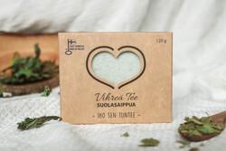 Carita Cosmetiikka Vihreä tee suolasaippua