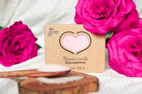 Carita Cosmetiikka Ruusu suolasaippua