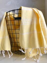Hamam kylpypyyhe, keltainen
