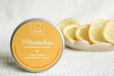 Carita Cosmetiikka Sitrusraikas deodoranttivoide