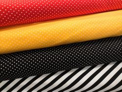 Minipilkut musta, punainen ja keltainen