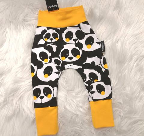 Keltaiset panda baggyt