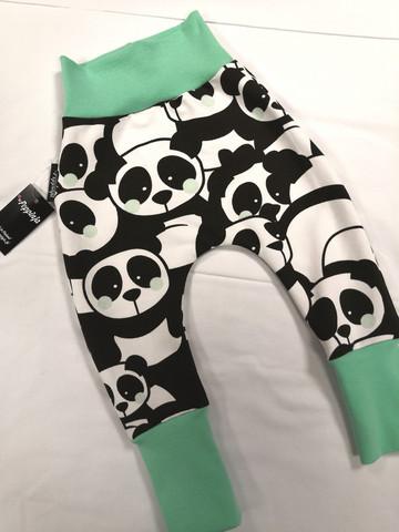 Minttuposkiset panda baggyt