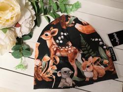 Musta Bambi ja metsäneläimet pipo