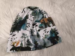 Metsän eläimet trikoo