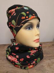 Musta-punainen Hortensia trikoo