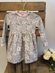 Harmaat Pikku Ruusut mekko