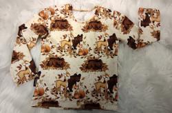 Kerman vaalea Karhunpennut ja Bambi paita