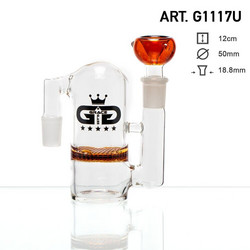 Grace Glass Precooler w/ HoneyComb AMBER, 18,8mm