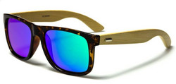 Bambu Wayfarer Tortoise Midnight Green