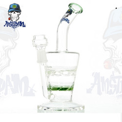 Bong Glass Amsterdam-Green