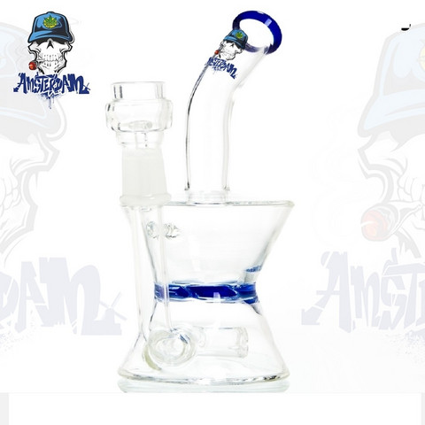 Bong Glass Amsterdam-Blue
