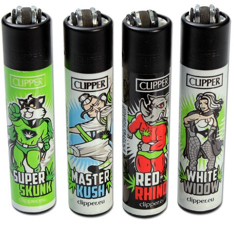 Clipper lighter - Weed Heroes