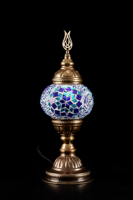 Saphir hand-made glass mosaic lamp
