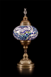 Agatin hand-made glass mosaic lamp