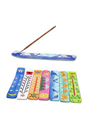 Wooden Incense Stick Holder, Hand Painted