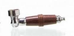 Wooden Screw Pipe, 8cm
