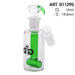GG Chillum Slit Precooler, green | 18,8mm