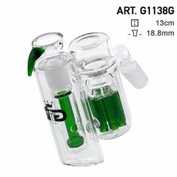 Grace Glass | Precooler Double Percolators Green | 18,8mm