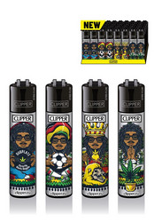 Clipper Lighter - Rastaman