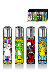 Clipper Lighter - Dab Mascots