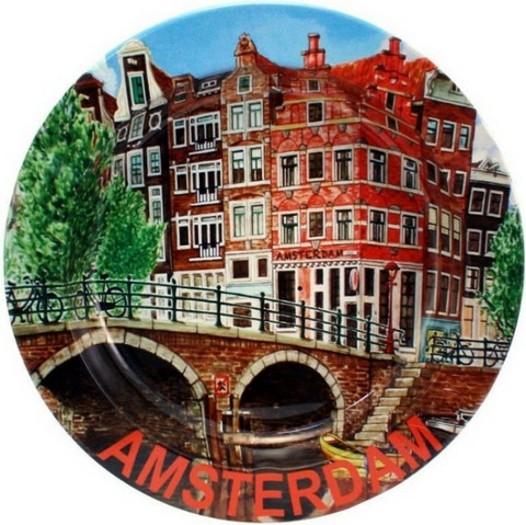 Amsterdam Tin Ashtray Canal