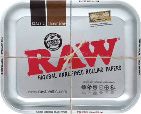 RAW Metal Rolling Tray Steel Medium