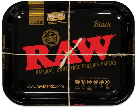Raw Black Rollingtray, Large