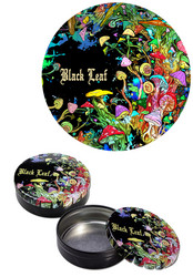 'ClickClack' Box 'Black Leaf' 'Mushroom' 51mm
