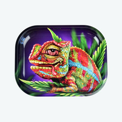 V-Syndicate | Cloud 9 Chameleon Rolling Tray Small