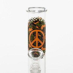 Greenline Peace Bouncer bong, 21cm
