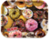 Raw Donuts Rollingtray, Large