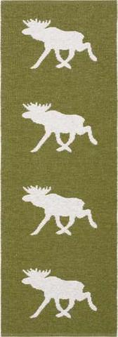 Muovimatto - Horreds mattan Hirvi, vihreä