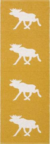 Muovimatto - Horreds mattan Hirvi, sinappi