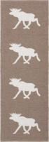 Muovimatto - Horreds mattan Hirvi, ruskea