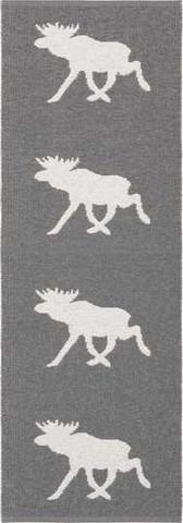 Muovimatto - Horreds mattan Hirvi, harmaa