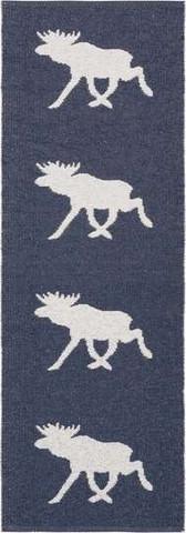 Muovimatto - Horreds mattan Hirvi, laivastonsininen