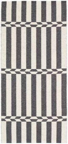 Muovimatto - Horreds mattan Arrow, musta