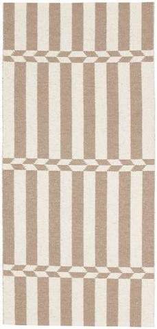 Muovimatto - Horreds mattan Arrow, beige