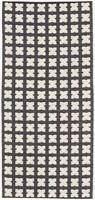 Muovimatto - Horreds mattan Cross, musta