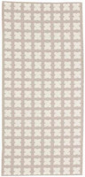 Muovimatto - Horreds mattan Cross, beige