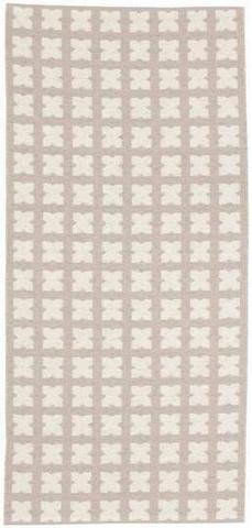 Muovimatto - Horreds mattan Cross, beige