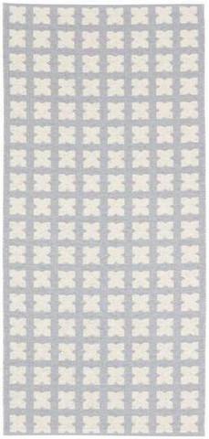 Muovimatto - Horreds mattan Cross,sini/harmaa