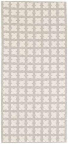 Muovimatto - Horreds mattan Cross, harmaa