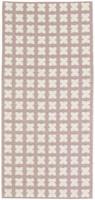 Muovimatto - Horreds mattan Cross, pinkki