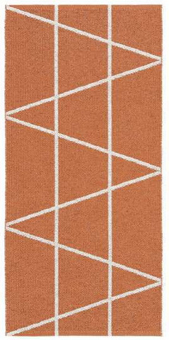 Muovimatto - Horreds mattan Viggen, oranssi