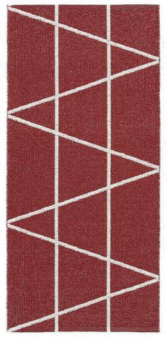 Muovimatto - Horreds mattan Viggen, punainen